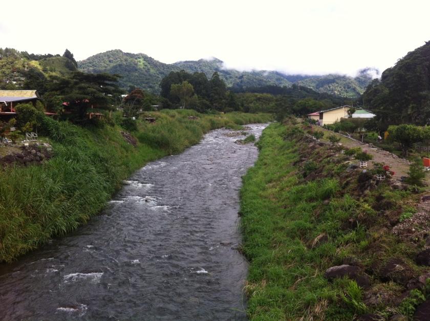 Rzeka w Boquete